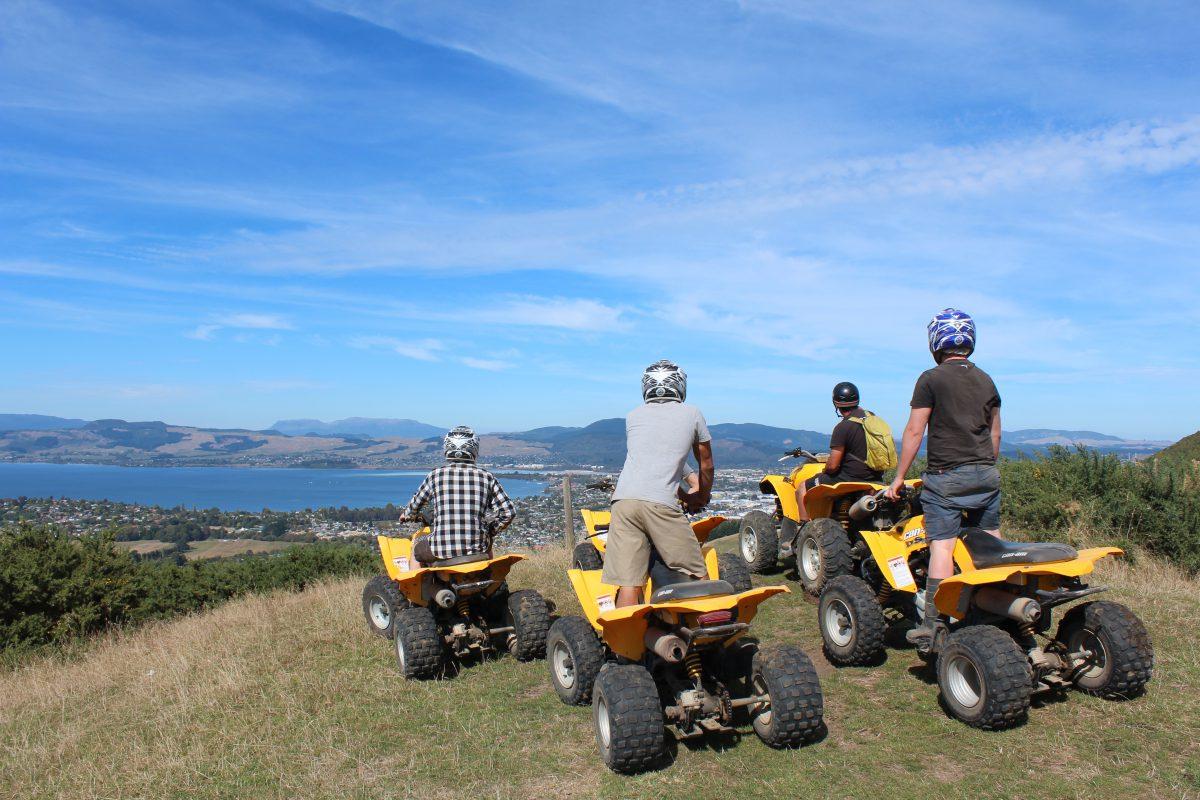 Quad Bikes Rotorua Tour