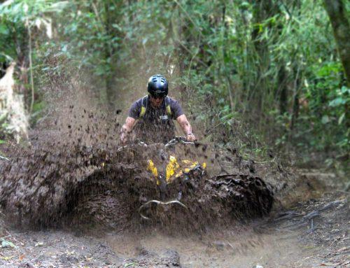 Great Fun in the Rain and Mud